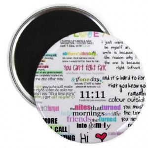 ... gifts girly quotes colour funny fun magnets quotes for girls magnet