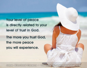 Inspirational Quote About Inner Peace by James Blanchard Cisneros ...