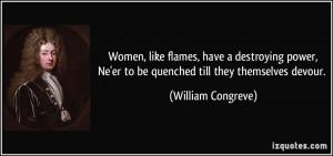 Women Power Quotes More william congreve quotes