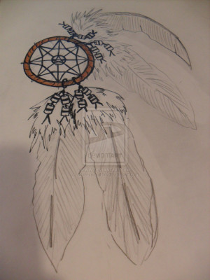 Dreamcatcher Tattoo Drawing Dream catcher tattoo design by