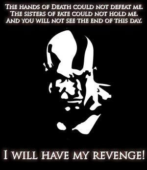 Kratos, God of War by WumboWolf