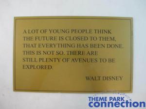 Walt-Disney-Story-Disneyland-Park-Inspirational-Quote-Retired-Display ...