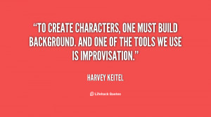 To create characters, one must build background. And one of the tools ...