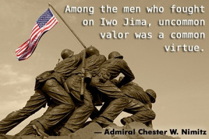 world war 2 quote by chester nimitz