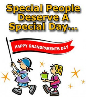 Special Wishes of Happy Grandparents Day Greeting Card