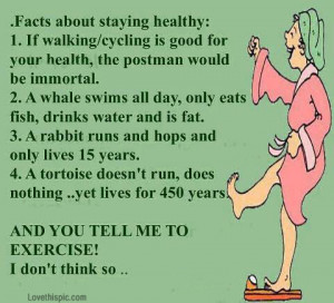 Facts about staying healthy