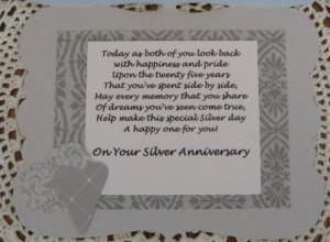 25th anniversary wishes 8 25th Wedding Anniversary
