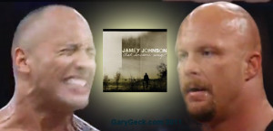 The Rock and Stone Cold Steve Austin 3:16 tweet about singer Jamey ...