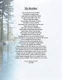 Original Inspirational Christian Poetry - Poems - My Brother