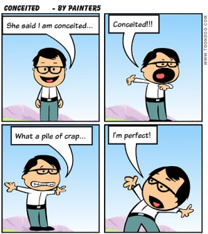 Conceited Cartoons Pinterest