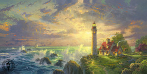 Thomas Kinkade Signed And