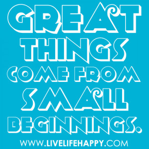 All Great Quotes to Live By - Life is Great Quotes -Great things come ...