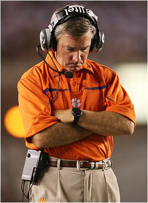 ... the similarities between Tommy Bowden and Mark Richt are astounding