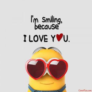Cute Funny Minions Love Profile Picture