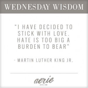 love vs. hate [Wednesday Wisdom]