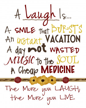 ... Thaik on the Importance of Laughter and i thought I would reshare it