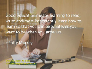 ... Patty Murray #EducationQuotes #EducationalQuotes www