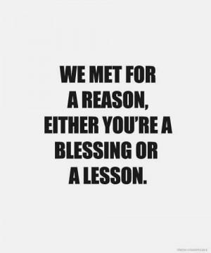blessing lesson
