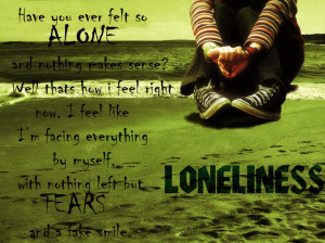 The Best Of Quotes About Loneliness: I Never Feel Alone Because Alone ...