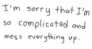 cute sorry picture quotes