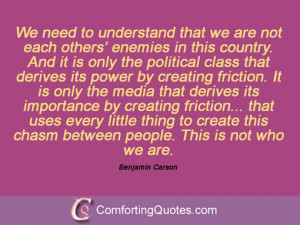 Quotes And Sayings By Benjamin Carson