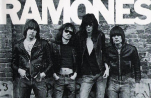 The Ramones are widely seen as the first punk band. L-r: Dee Dee ...