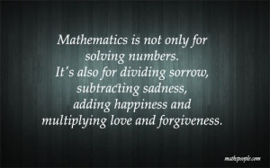 Math quotes deep thoughts sayings forgiveness