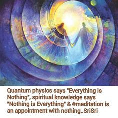 Quantum physics says