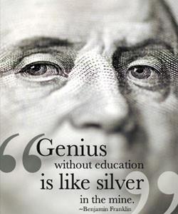 Benjamin Franklin's Education