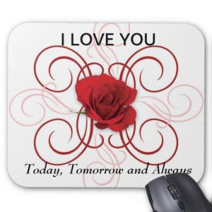 Love You Always Red Rose