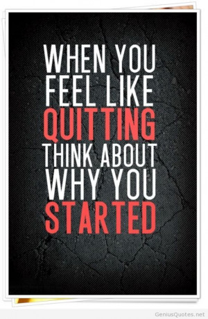 Quitting motivation card wallpaper – inspiring quitting quote