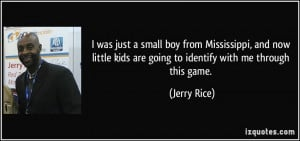 More Jerry Rice Quotes
