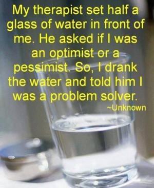 Glass half full or empty?