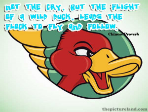 Inspirational Leadership Quotes And Pictures Of Angry Duck