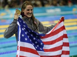 Missy Franklin named the top collegiate female athlete in the country ...