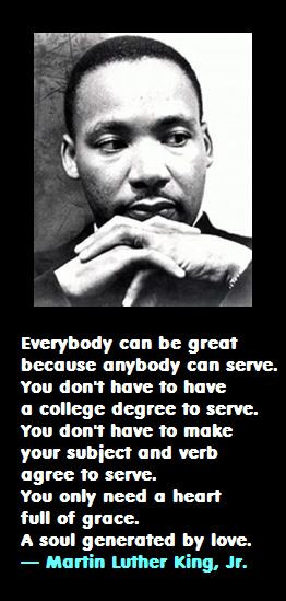 Martin Luther King on Service