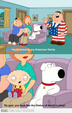 And that's how Stewie deserved a medal