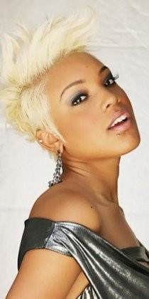 Platinum Blonde Hair On African American Women