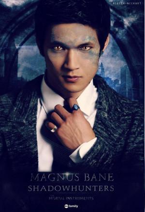 Harry Shum Jr. as Magnus Bane: Shadowhunt Tv, Shum Jr, Magnus Bane ...