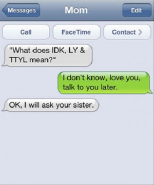 Funny Text Messages from Parents (13 Pics)
