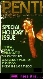 quoted, right, in Penthouse's , December 1977,