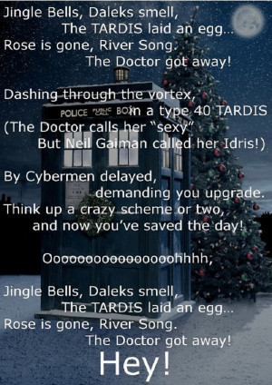 Doctor Who Jingle Bells