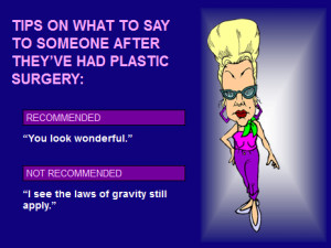 funny cartoons about plastic surgery funny plastic surgery quotes and ...
