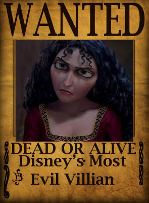 Mother Gothal- Disney's Most Evil Villain