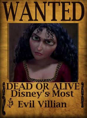 Mother Gothal- Disney's Most Evil Villain