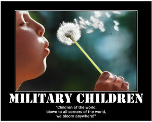 The Dandelion & The Military Child