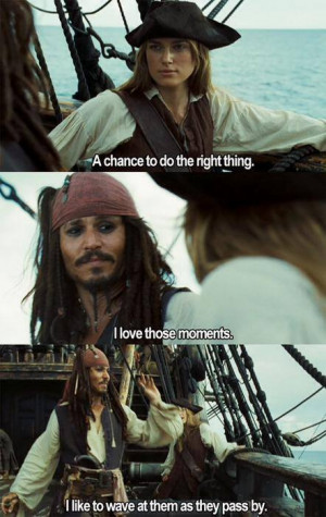 ... , johnny depp, keira knightley, pirates of the caribbean, quotes