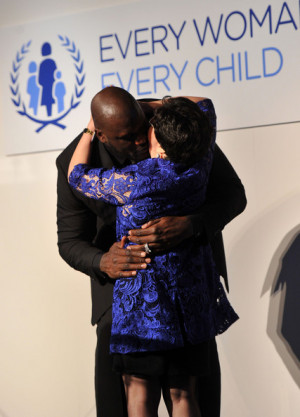 Margaret Chan and Shaquille O 39 Neal United Nations Every Woman Every