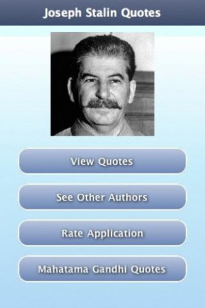 View bigger - Joseph Stalin Quotes for Android screenshot