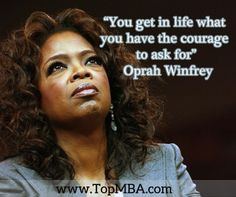 ... Oprah Winfrey. Which business leaders do you most admire? #success #